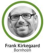 Havearkitekt Frank Kirkegaardteki