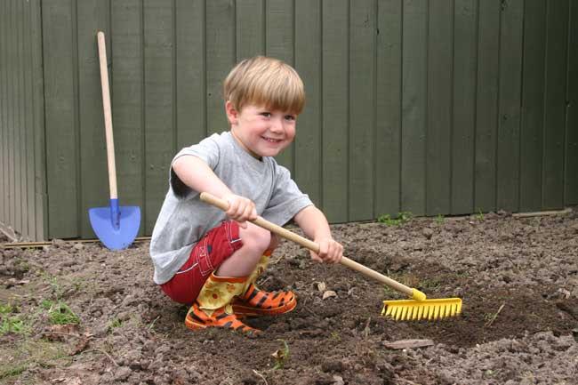 Tag børnene med i haven